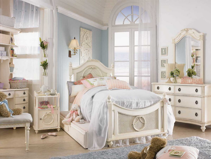 Shabby chic furniture shabby chic - Little girls shabby chic bedroom ...